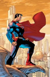 """Superman"". Licensed under Fair use via Wikipedia - http://en.wikipedia.org/wiki/File:Superman.jpg#/media/File:Superman.jpg"