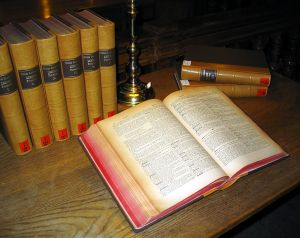 """Latin dictionary"" von Dr. Marcus Gossler - Eigenes Werk. Lizenziert unter CC BY-SA 3.0 über Wikimedia Commons - http://commons.wikimedia.org/wiki/File:Latin_dictionary.jpg#/media/File:Latin_dictionary.jpg"