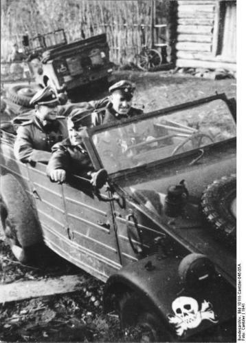 Russland, VW- Kübelwagen